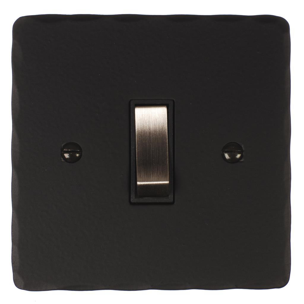 Double Pole Isolator (No Neon) Matt Black(discontinued, only stock shown available)