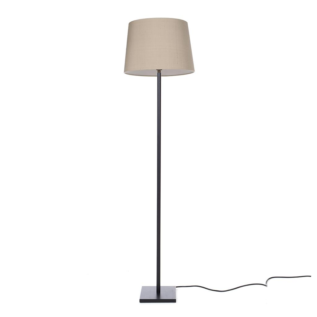 Porter Sofa Lamp in Matt Black
