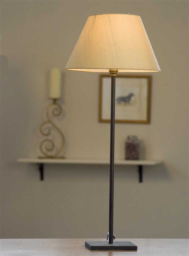 Porter Table Lamp in Beeswax