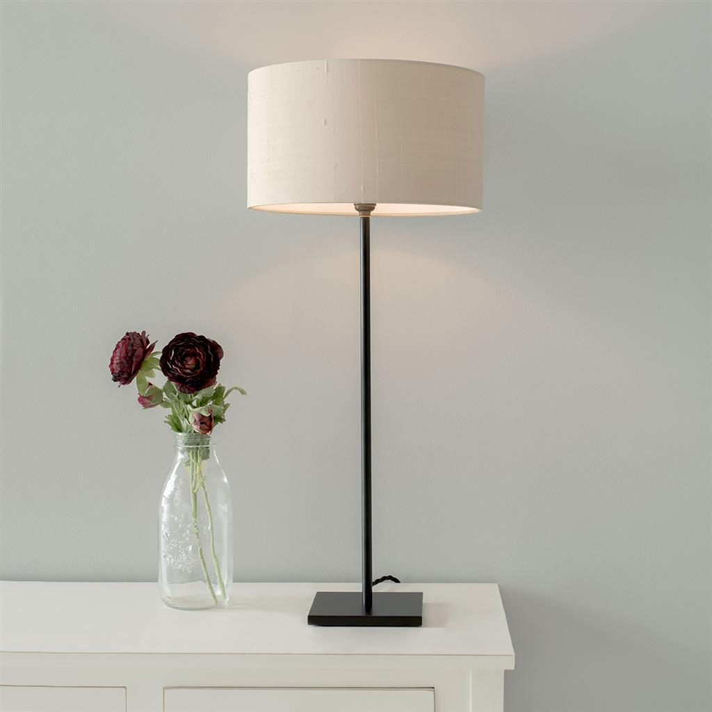 Porter Table Lamp in Matt Black