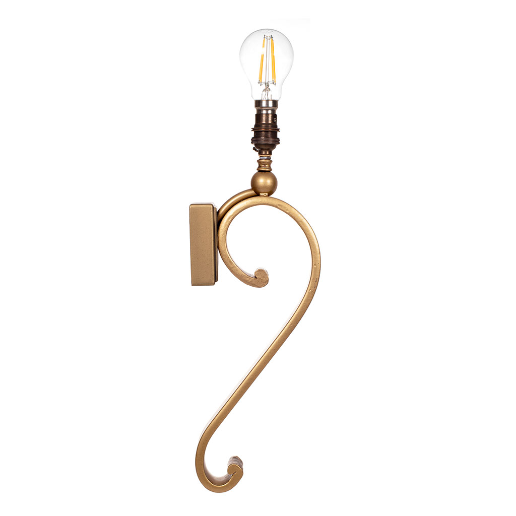 Millfield Wall Light in Old Gold