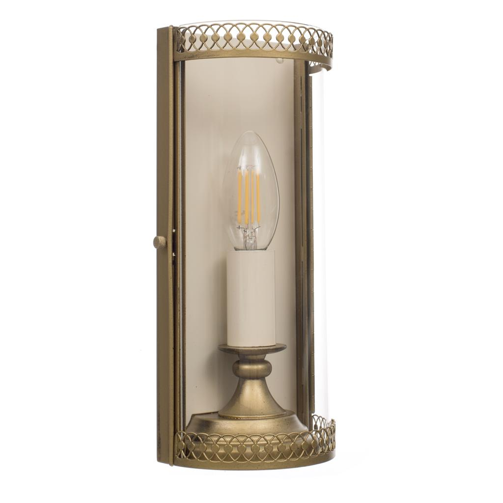 Tilverley Wall Light in Old Gold