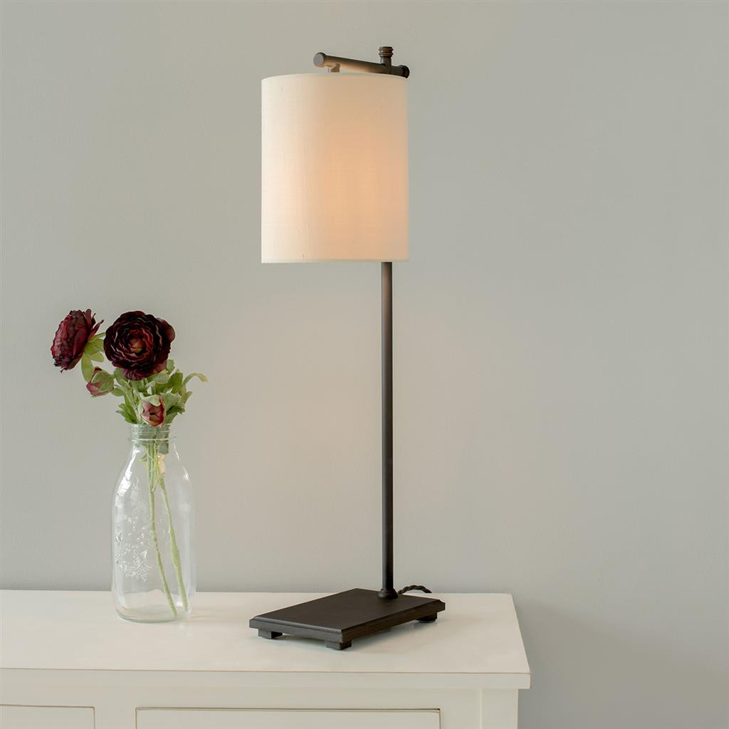Bannister Table Lamp in Beeswax
