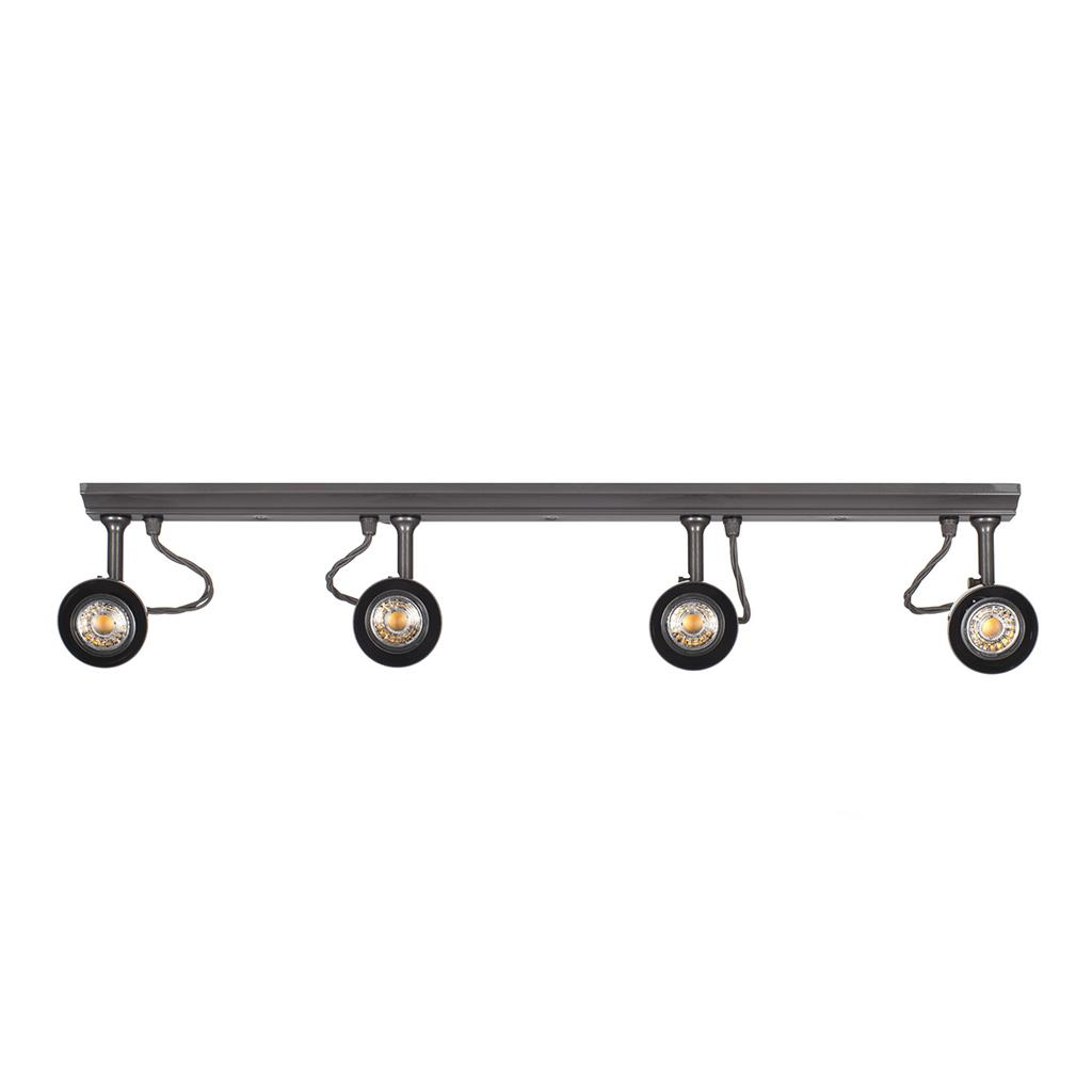 Edgeware Spotlight Strip in Polished - 4 Spots