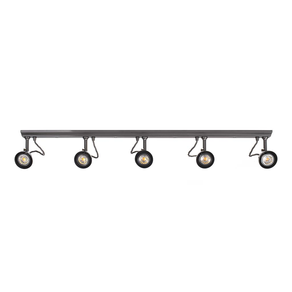 Edgeware Spotlight Strip in Polished - 5 Spots