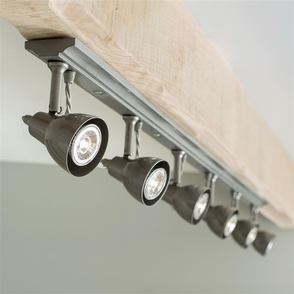Edgeware Spotlight Strip in Polished - 6 Spots