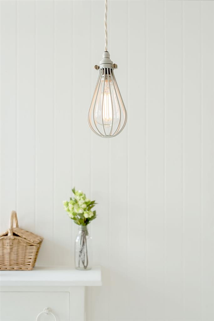 Cowley Pendant Light in Clay