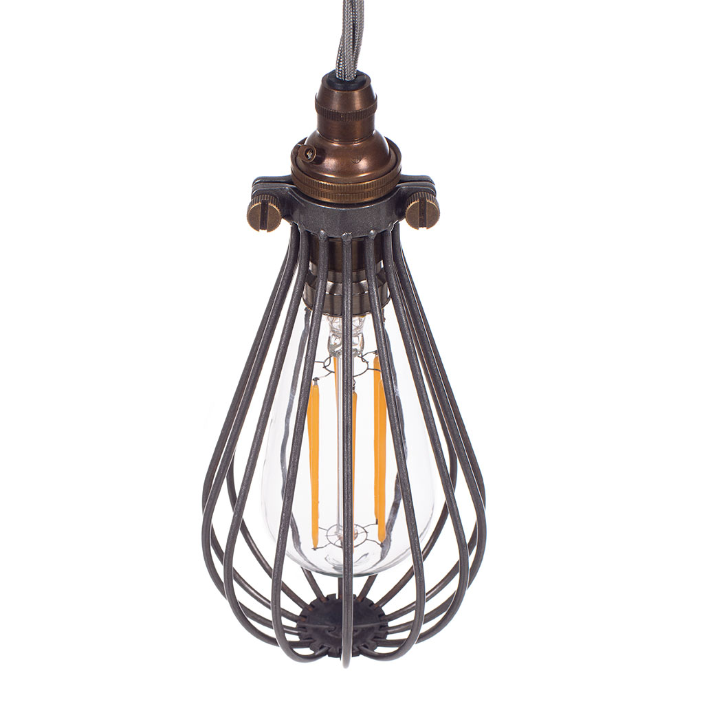 Cowley Pendant Light in Polished