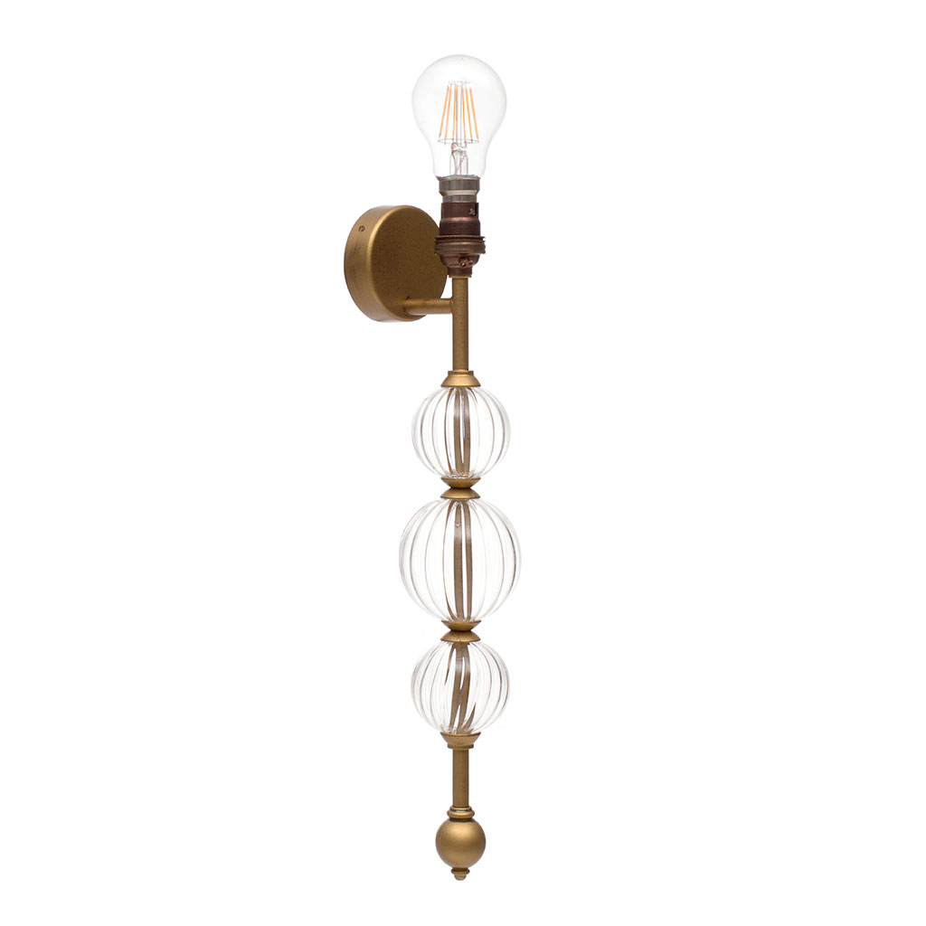 Omara Wall Light in Old Gold