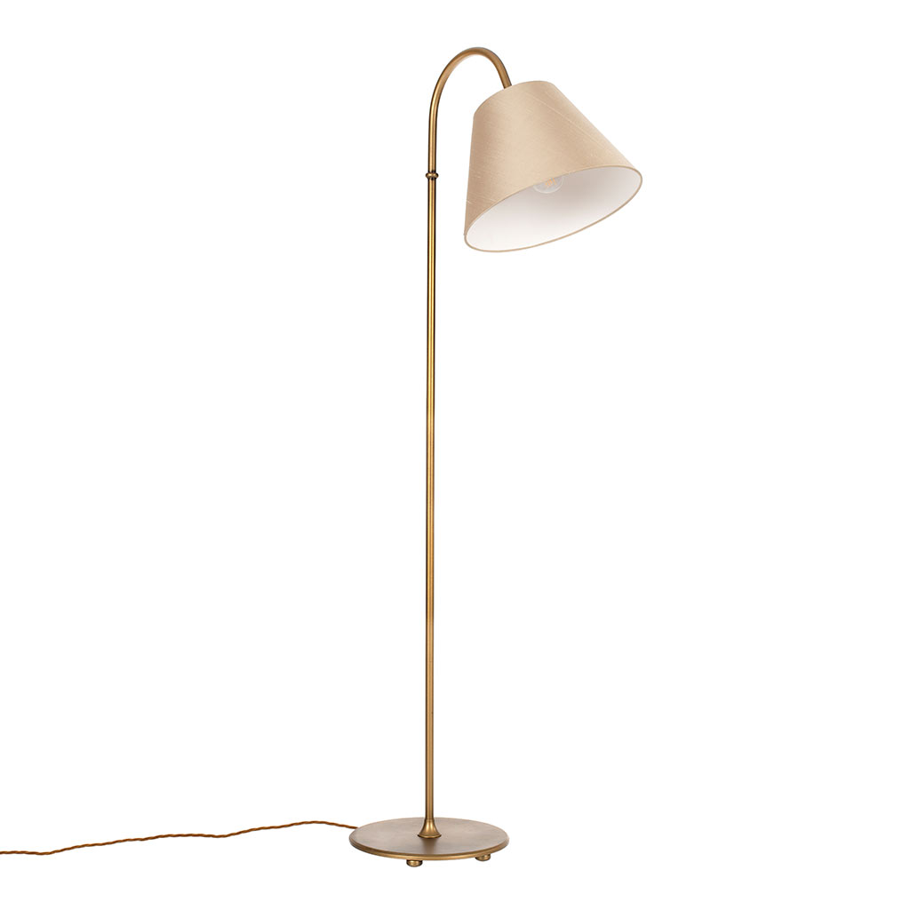 Camberwell Standard Lamp in Old Gold