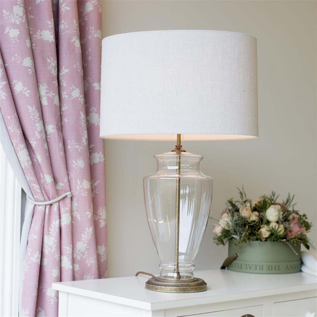 Amersham Table Lamp in Antiqued Brass