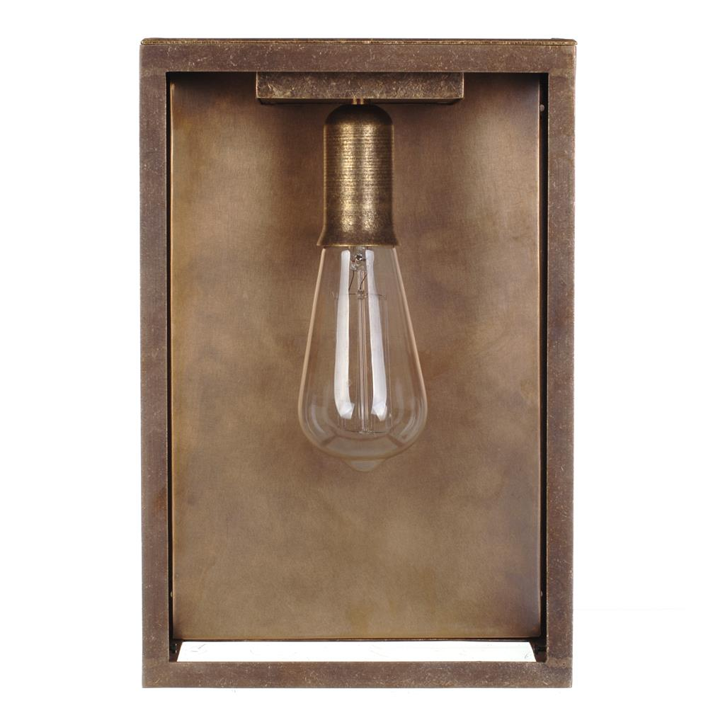 Finsbury Lantern in Antiqued Brass