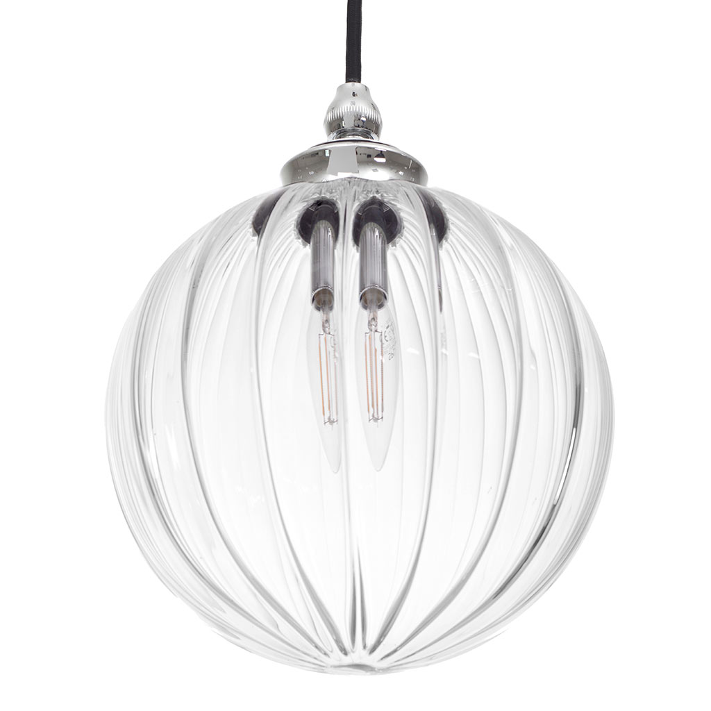 Fulbourn Bathroom Pendant Light in Nickel