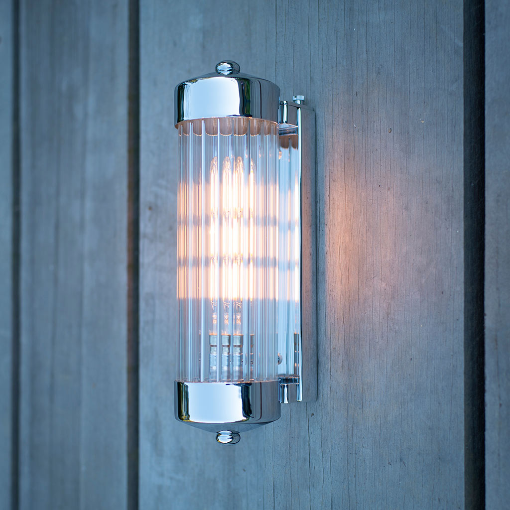 Cheltenham Wall Light in Nickel