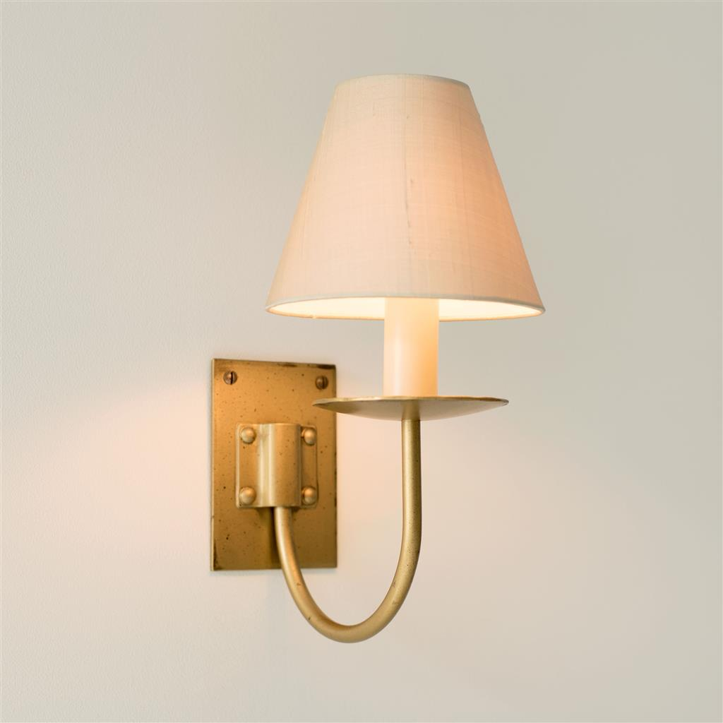 Single Smuggler's Wall Light in Old Gold
