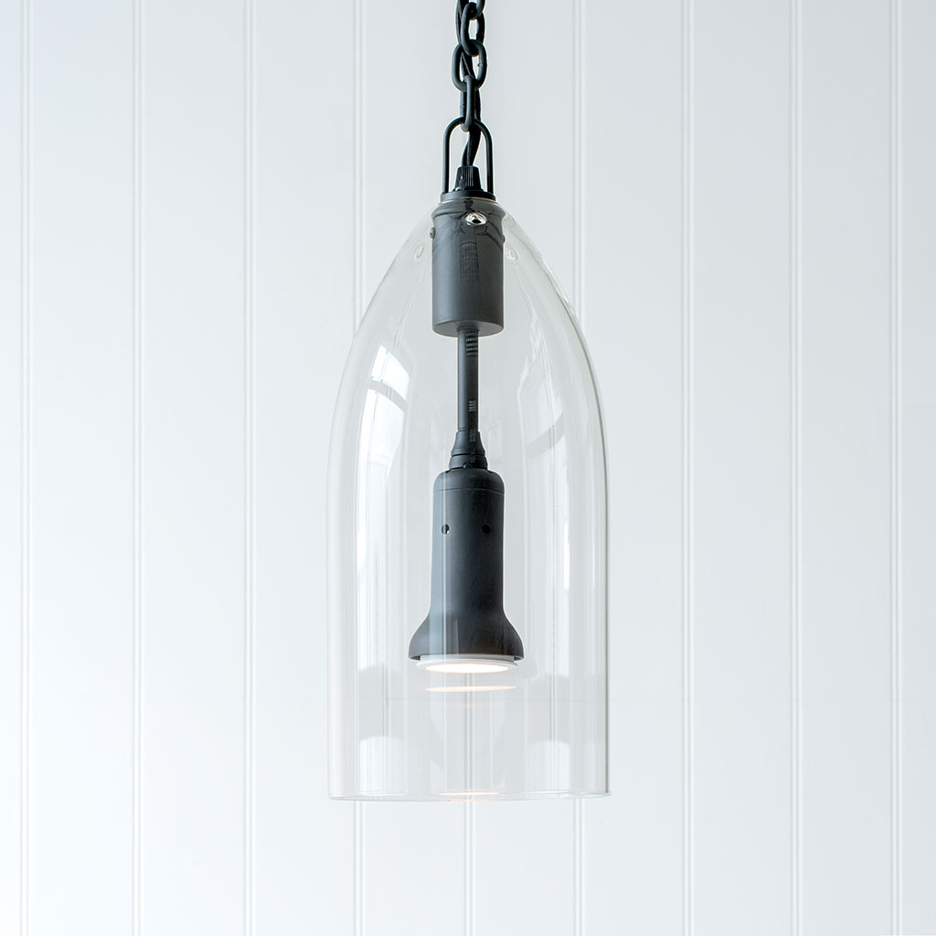 Highbury Pendant Light in Matt Black