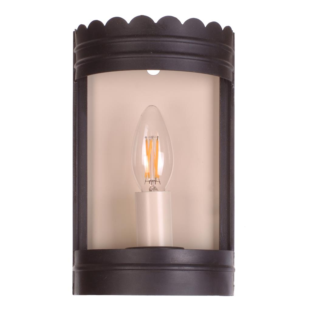 Beeswax curved glass wall light inverlochy jim lawrence for Curved glass wall