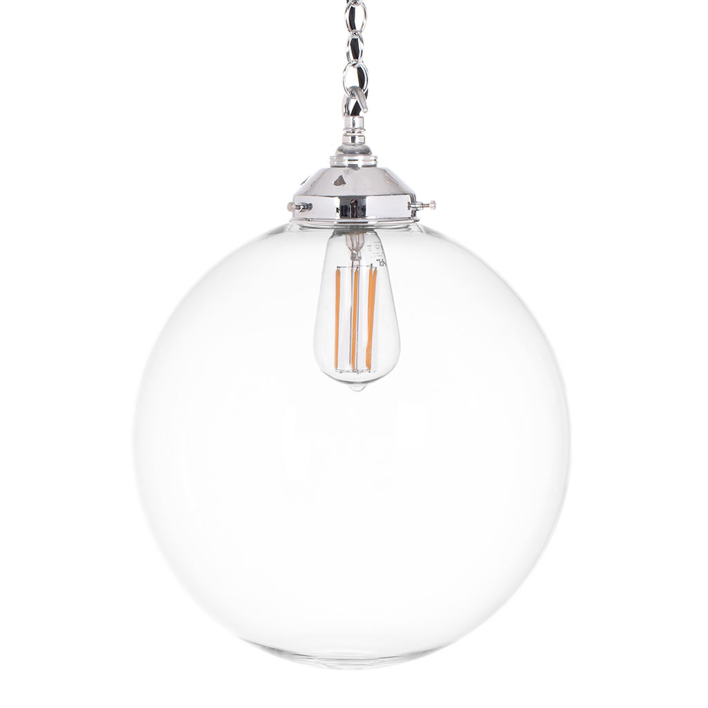 Richmond Pendant Light in Nickel