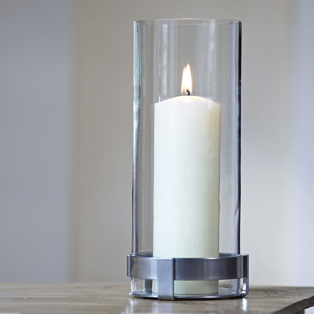 Penfold Hurricane Lamp in Polished