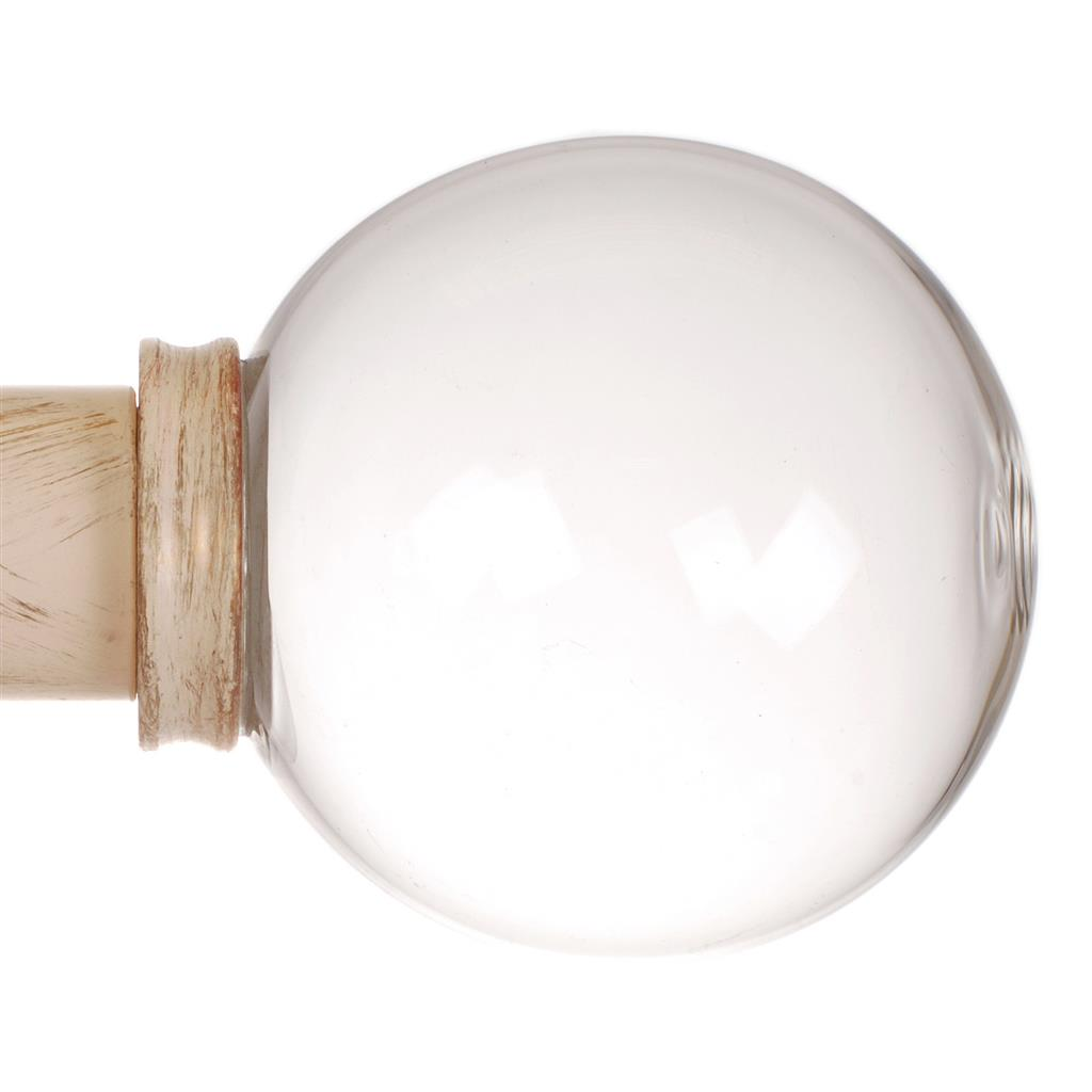 38mm Glass Finial in Old Ivory