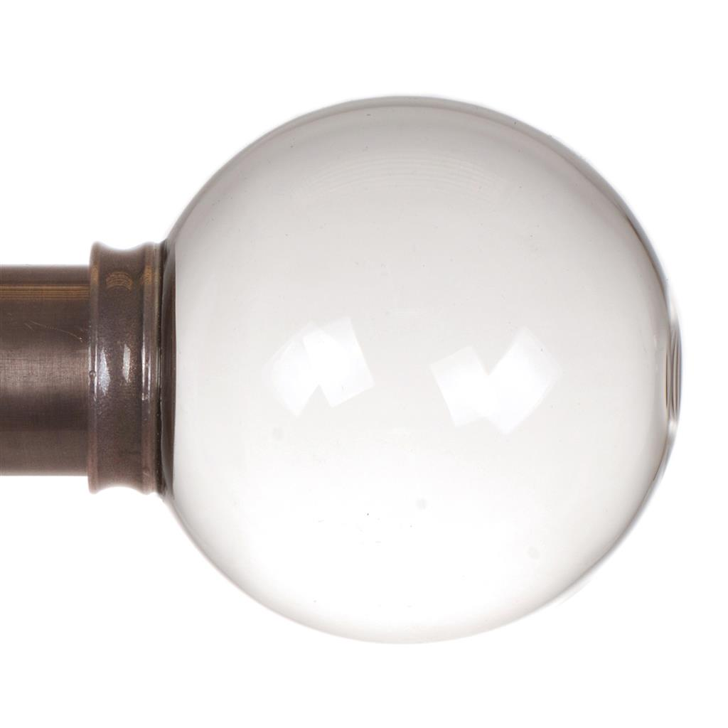 38mm Glass Finial in Polished