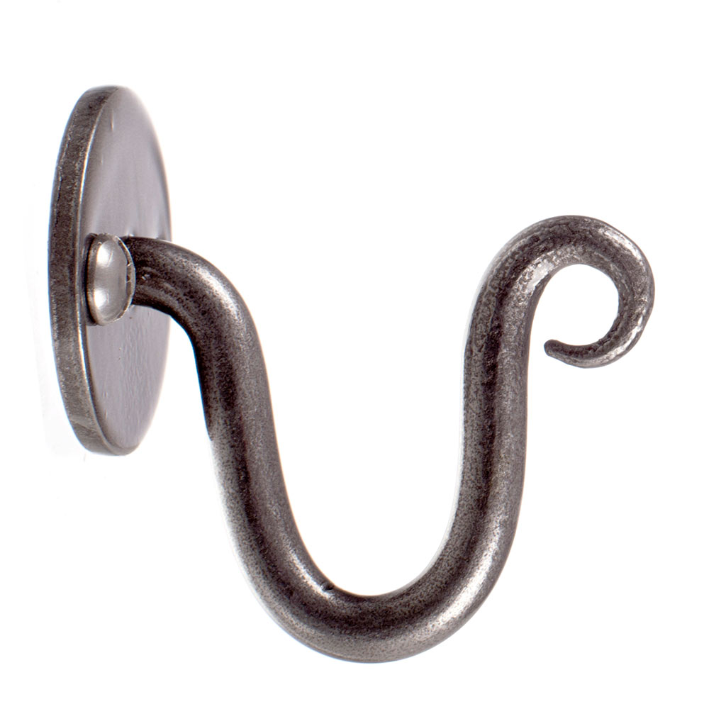 Hatton Holdback Hook in Polished