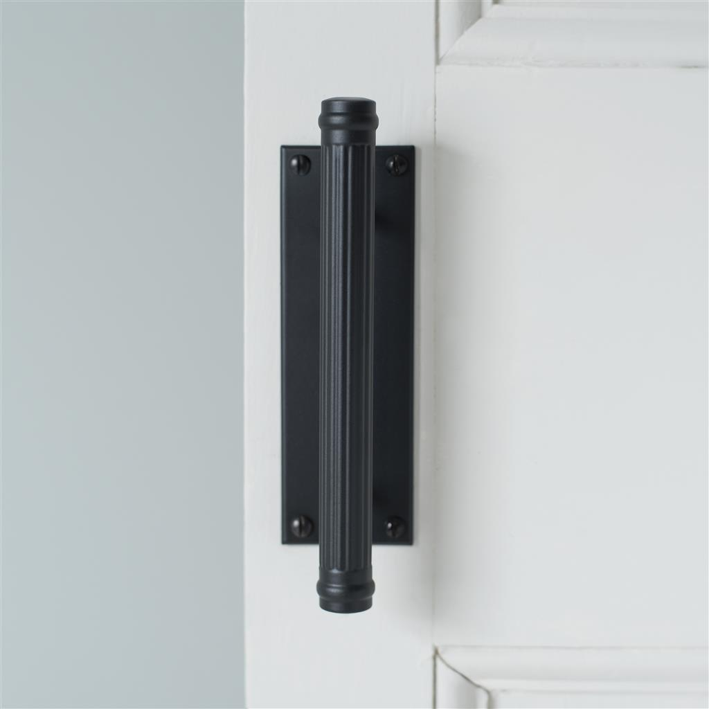 Stowe Door Pull in Matt Black