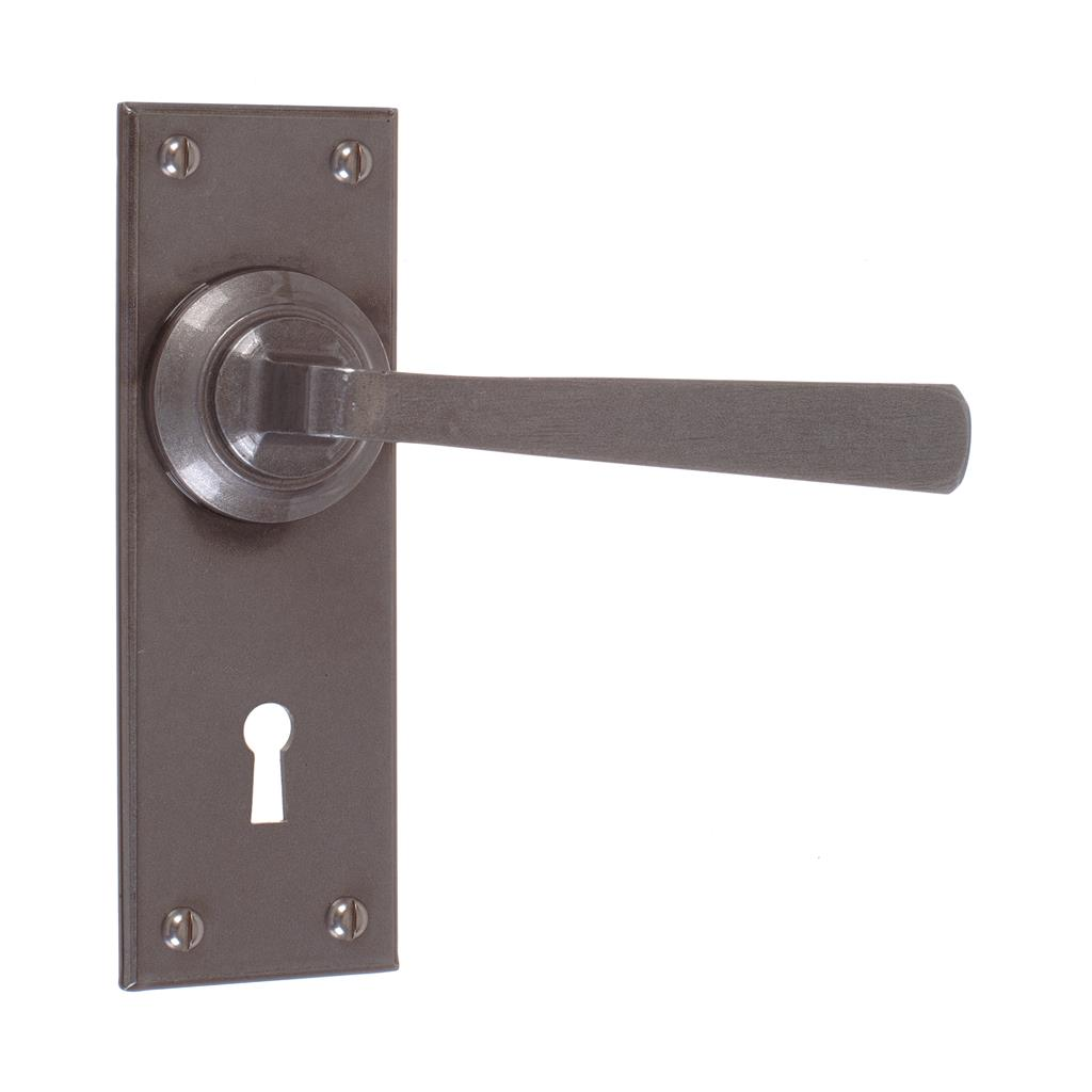 Manson Handle, Bristol Keyhole Plate, Polished