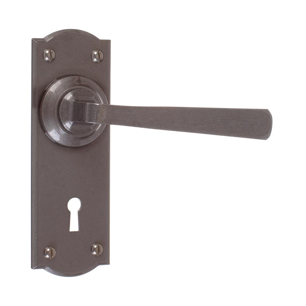 Manson Handle, Nowton Keyhole Plate, Polished