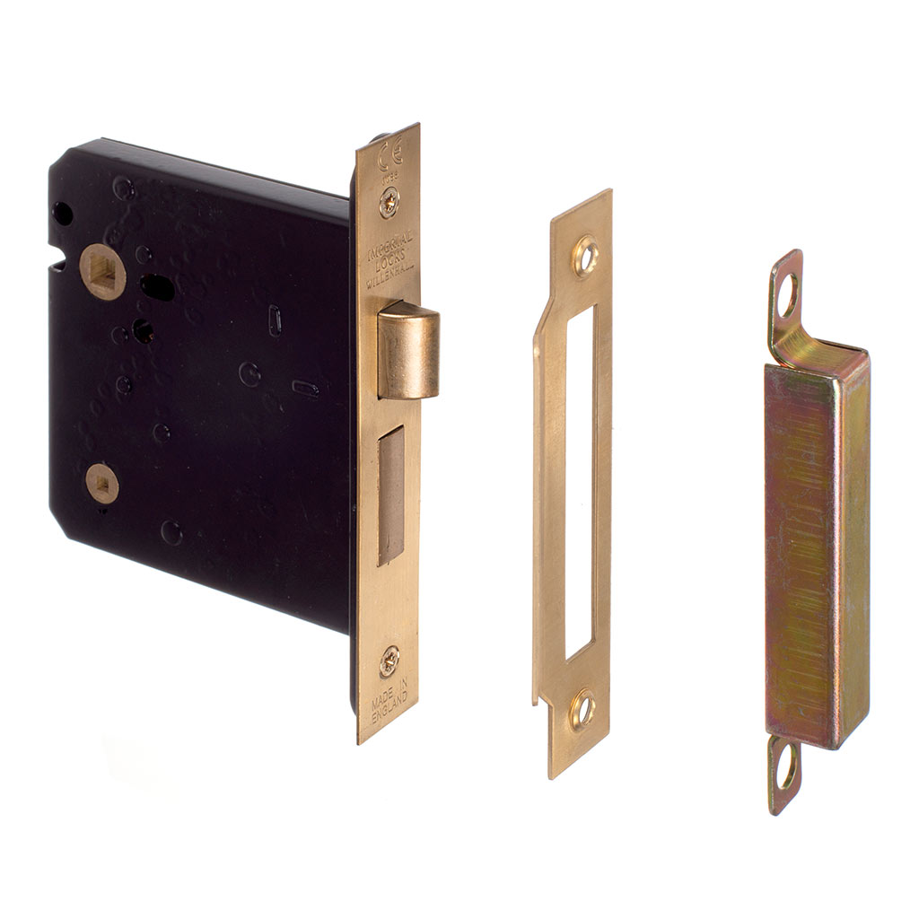 Privacy Lock Knob Handle in Brass