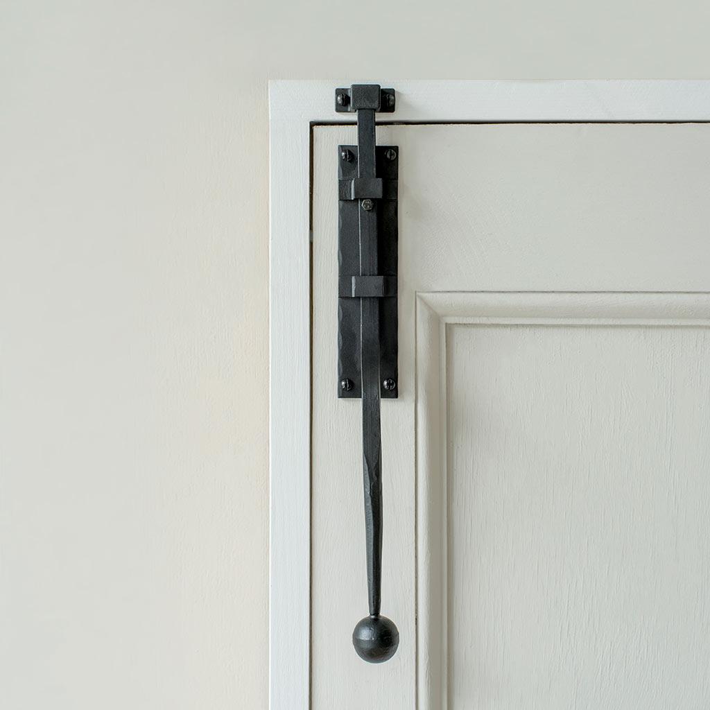 Black Vertical Door Bolt Door Security Ironmongery