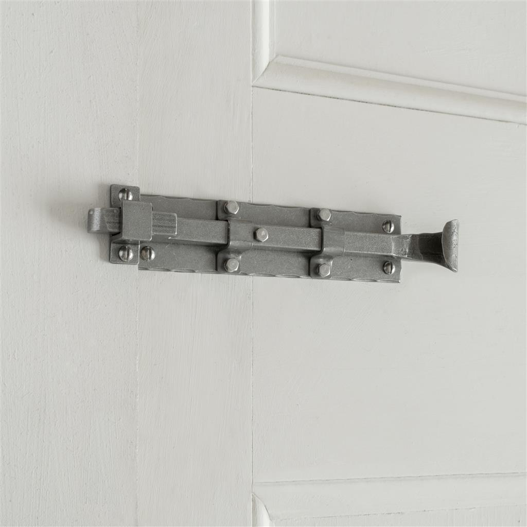 Cranked Groton Door Bolt in Polished