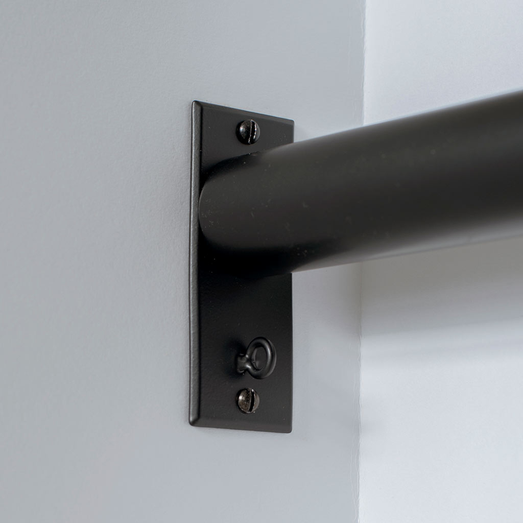 38mm Chapel Recess Bracket in Matt Black