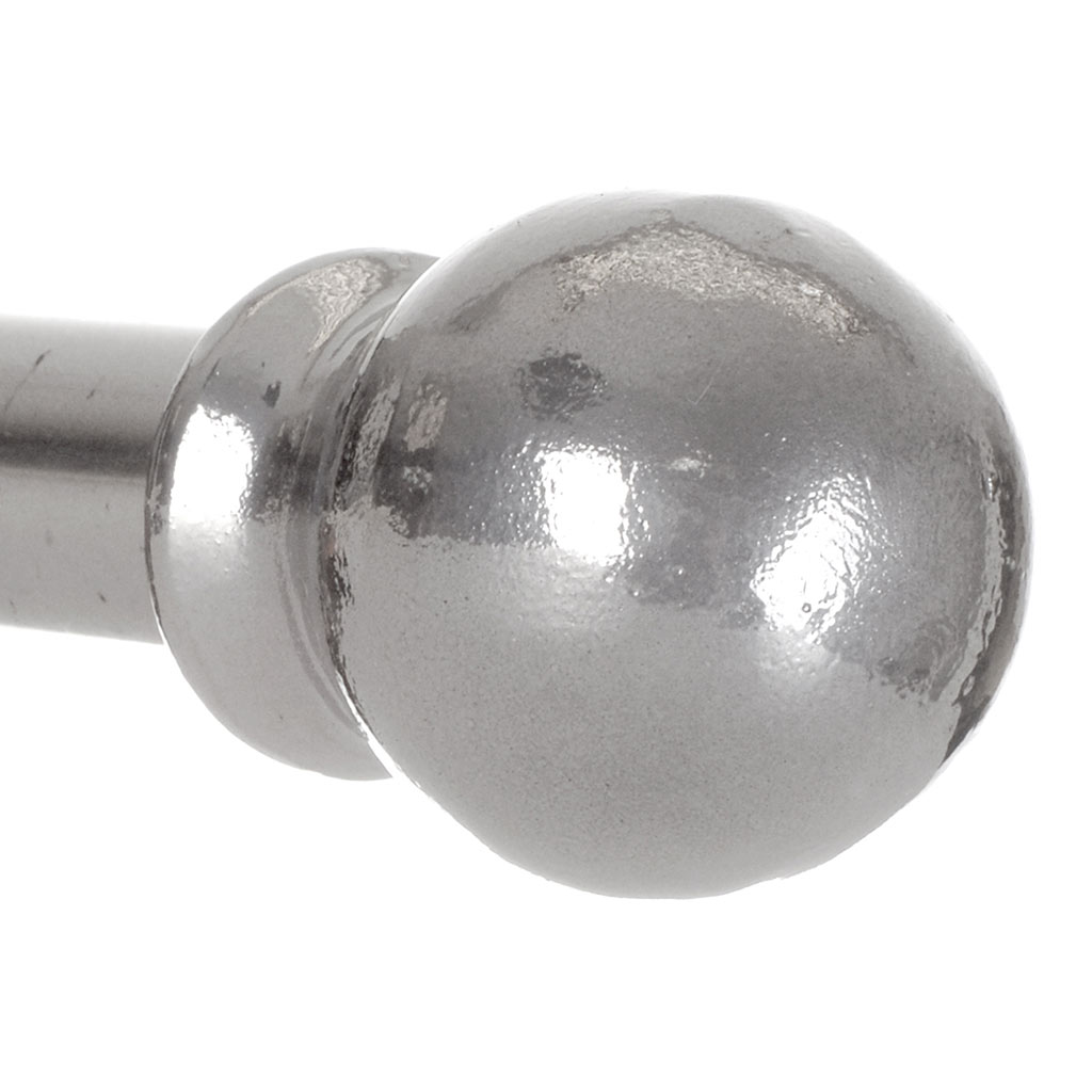 20mm Cannonball Finial in Mercury