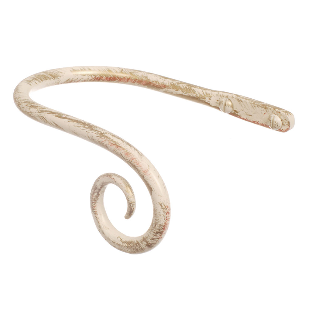 Small Crook Holdback (Right Side) in Old Ivory