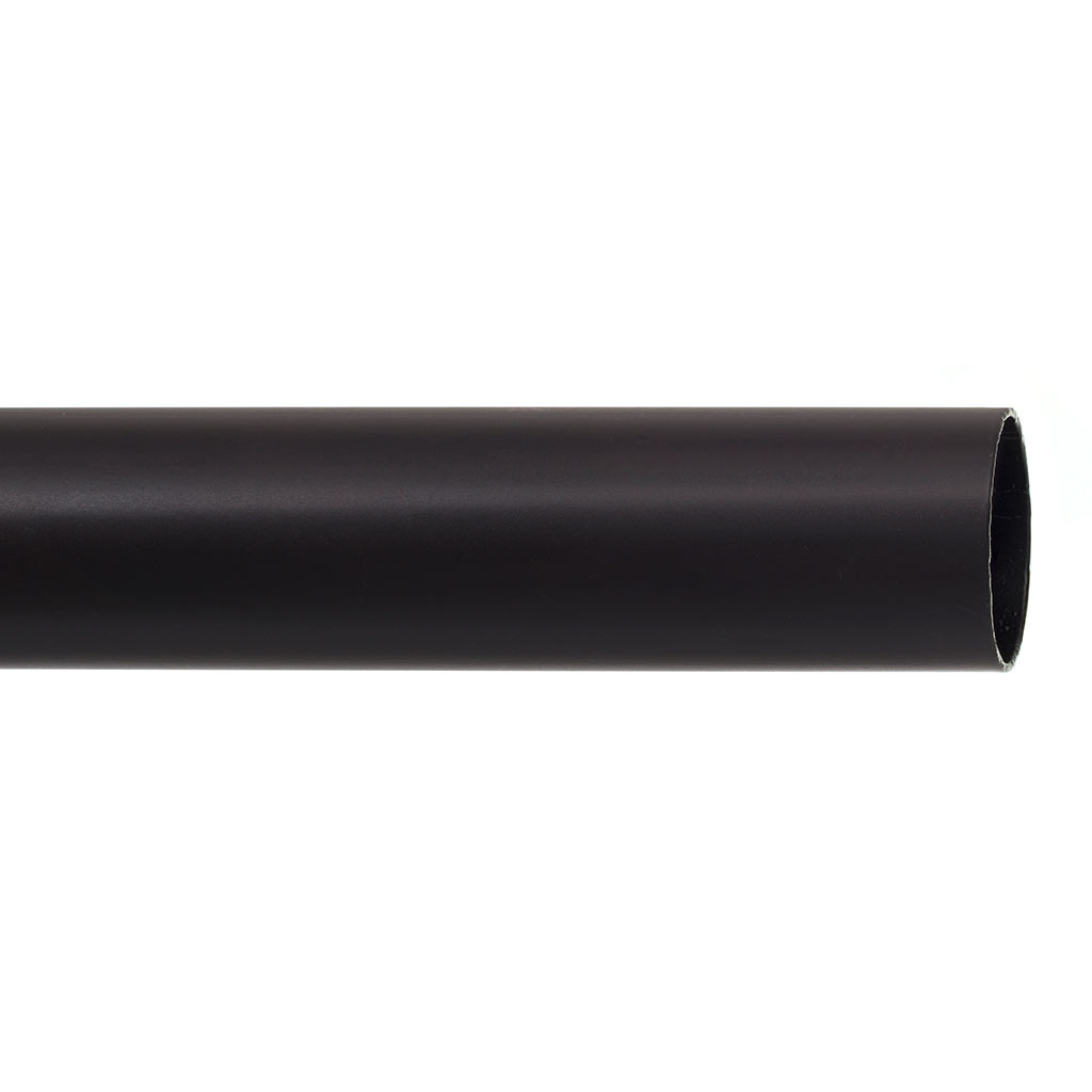 38mm Classic Pole in Matt Black
