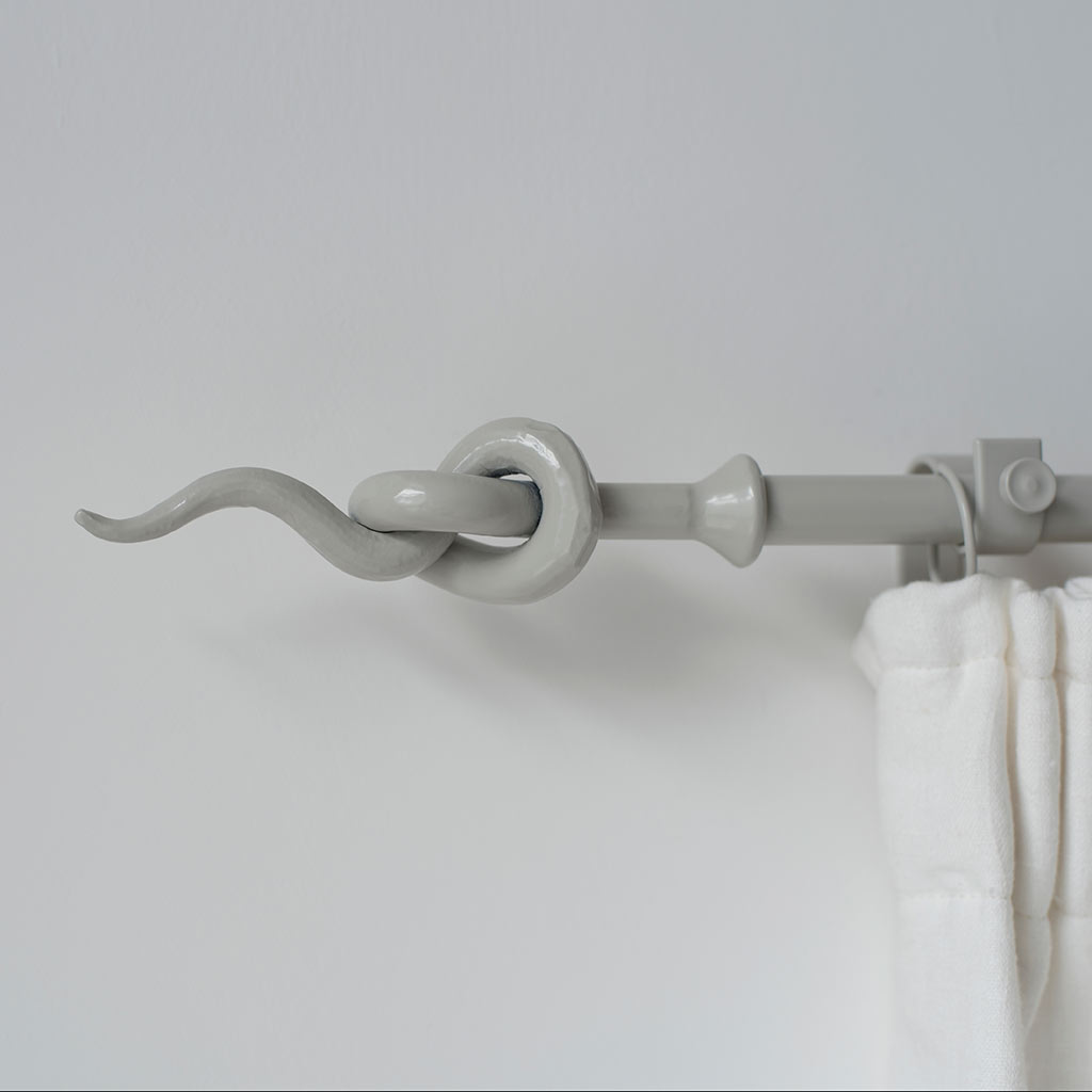 20mm Knot Finial in Clay(discontinued, only stock shown available)