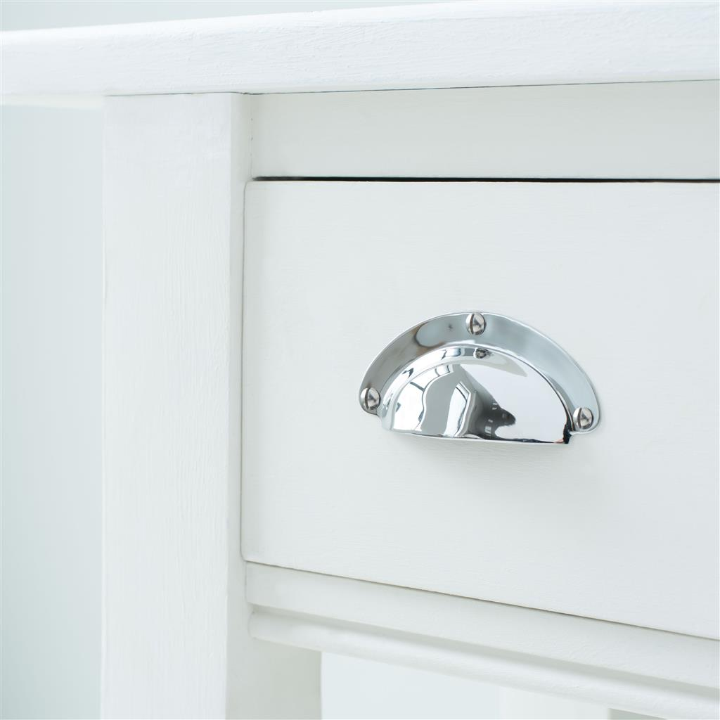Schoolhouse Drawer and Cupboard Pull in Nickel
