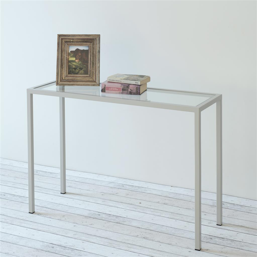 Cromer Console Table in Clay