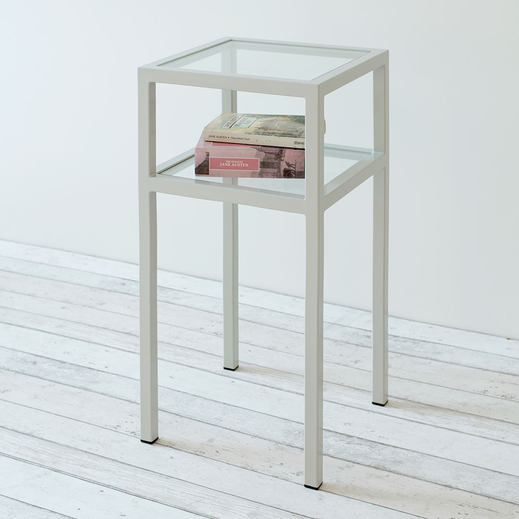 Cromer Bedside Table in Clay
