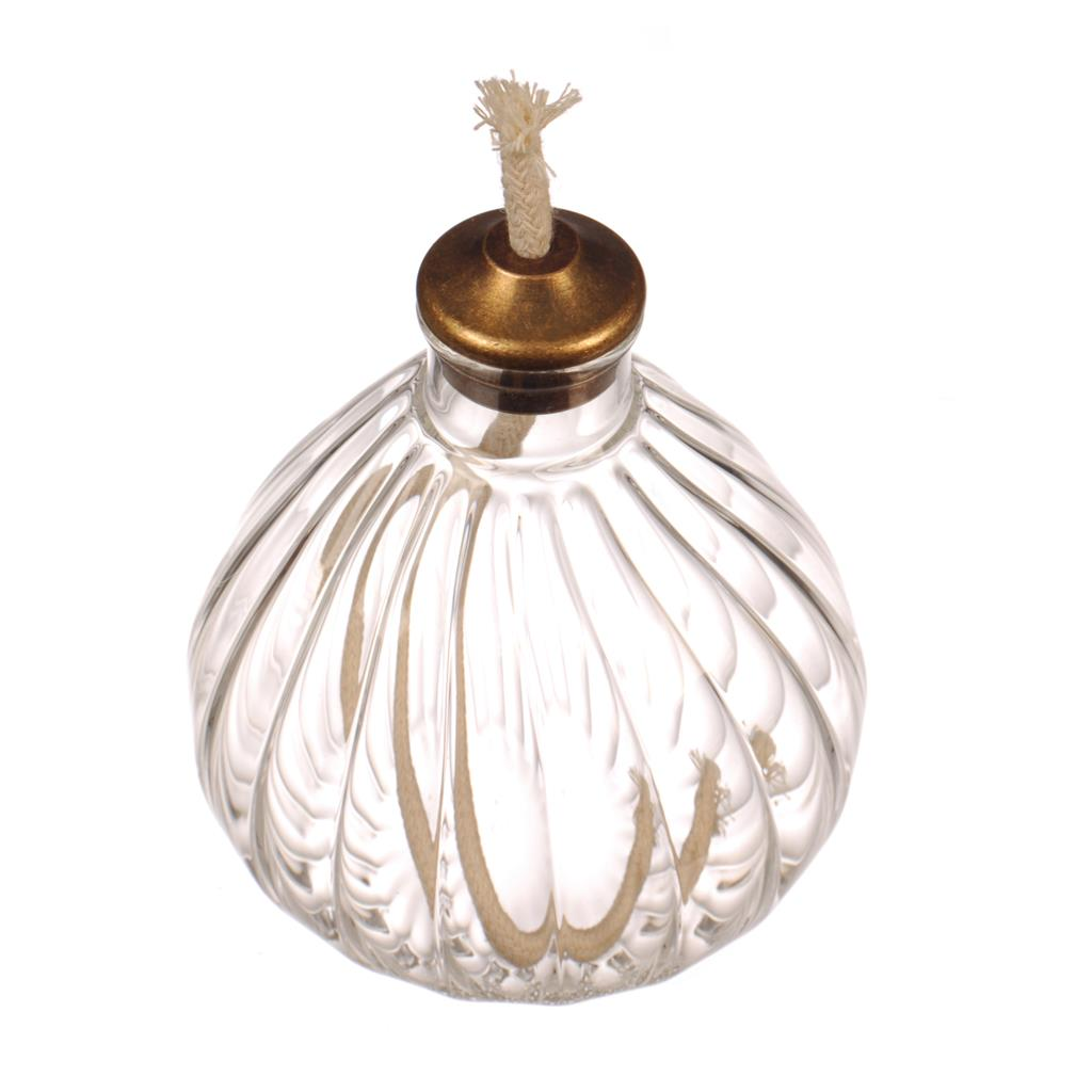 Samworth Glass Oil Lamp