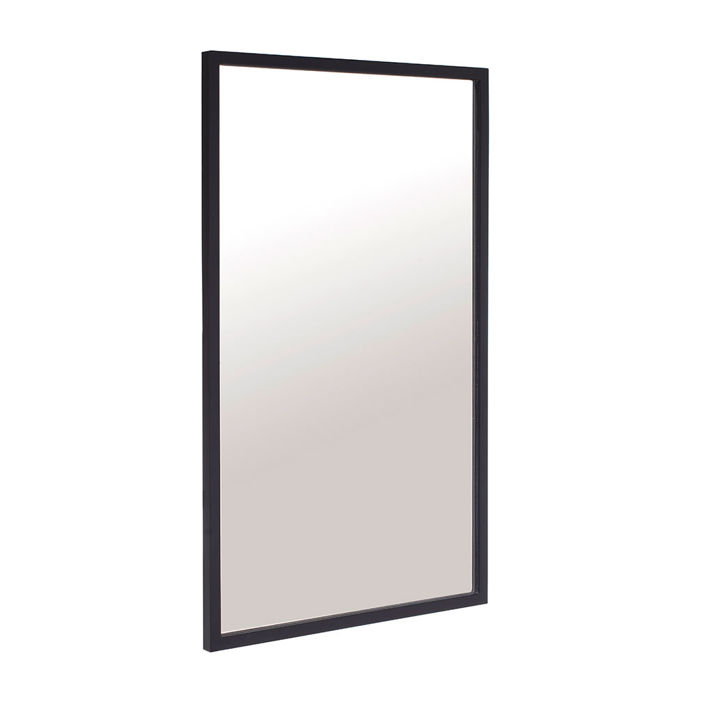 Pembroke Mirror in Matt Black