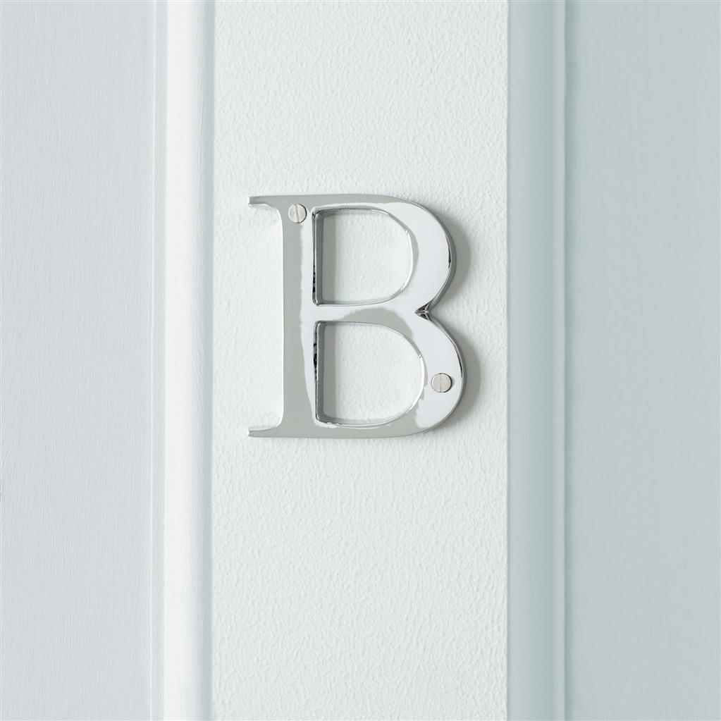 Letter B in Nickel