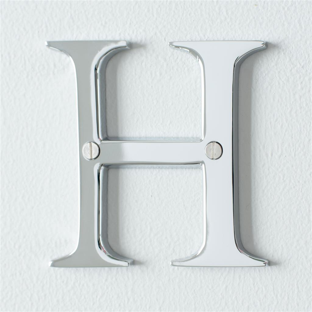 Letter H in Nickel
