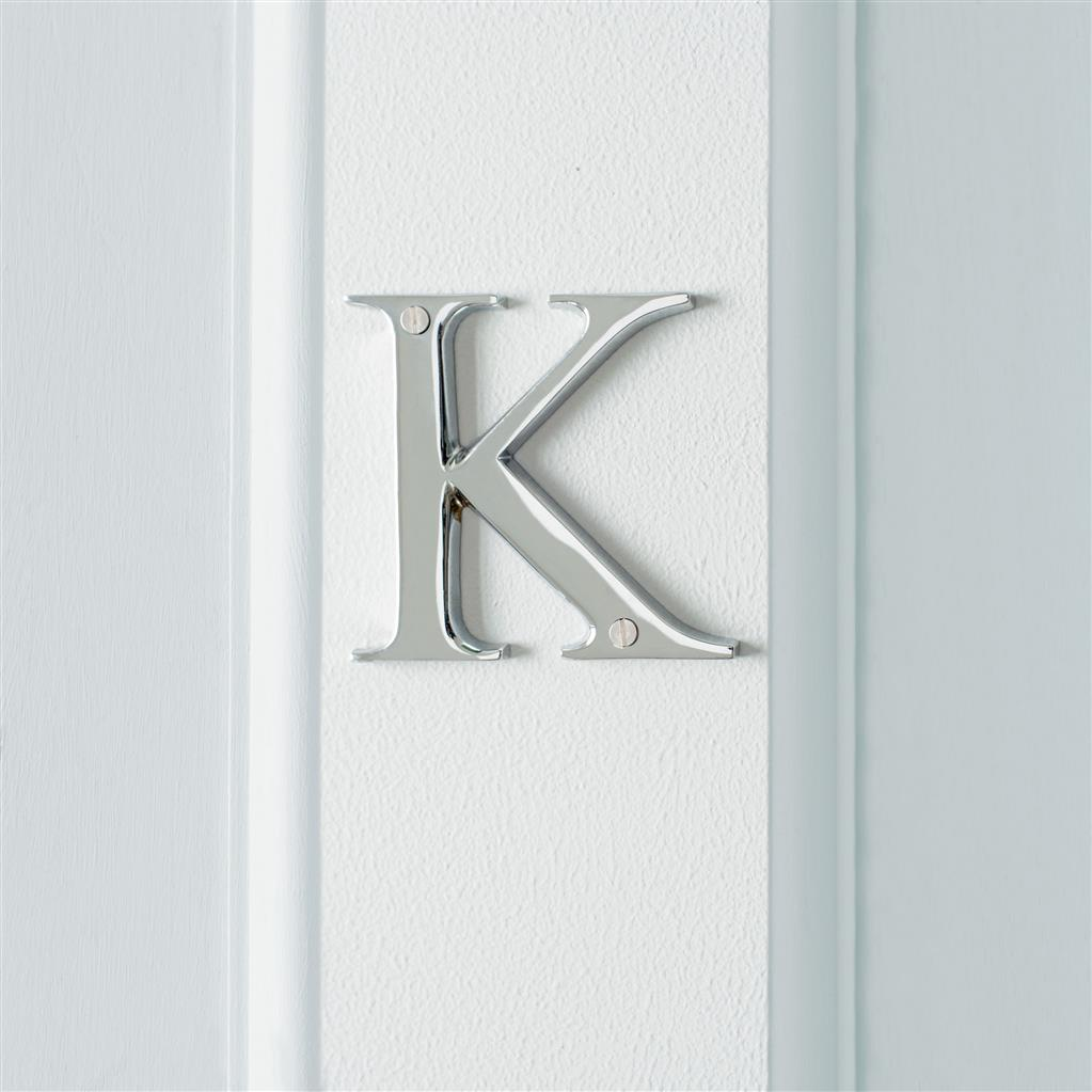 Letter K in Nickel