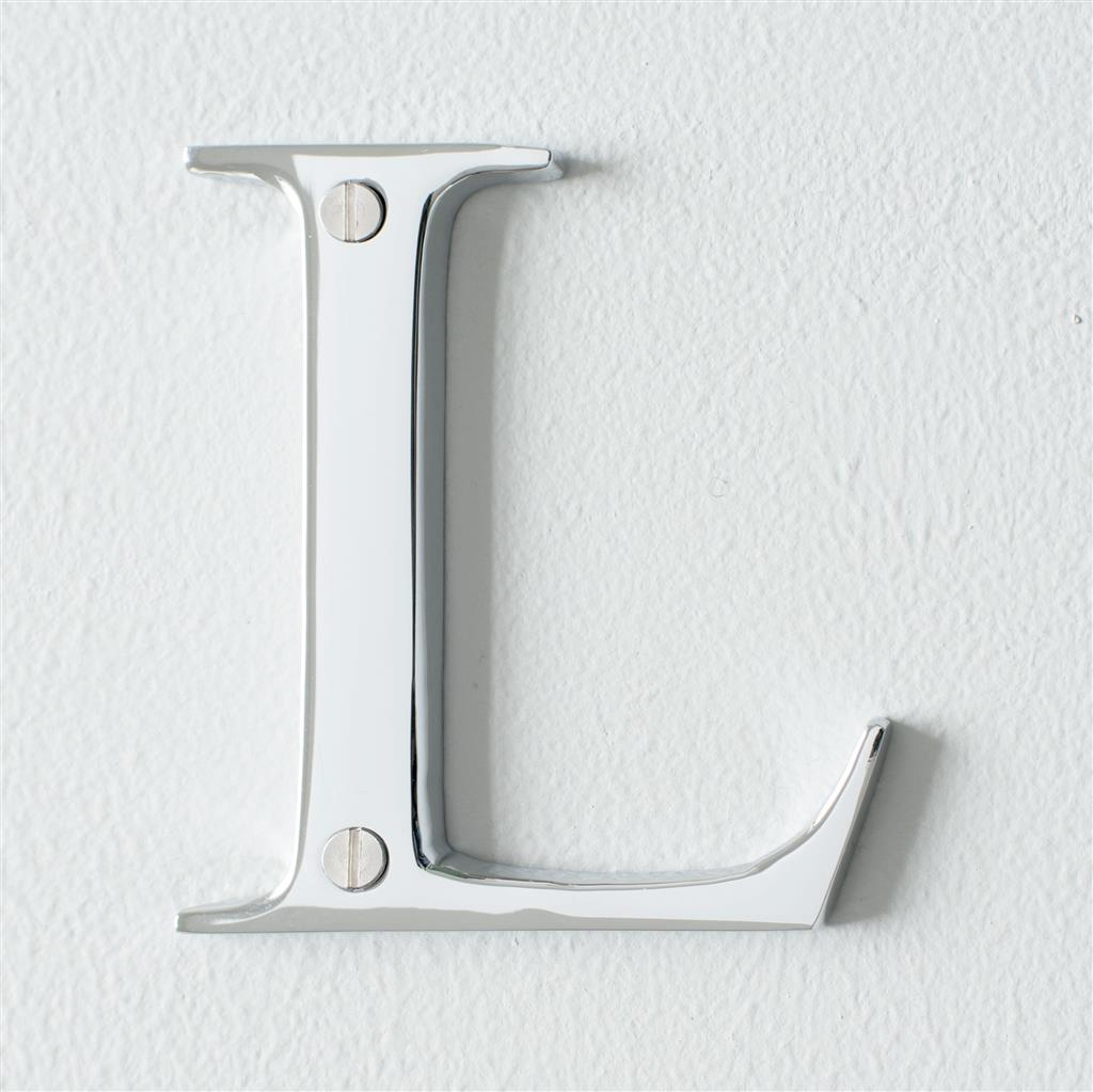 Letter L in Nickel
