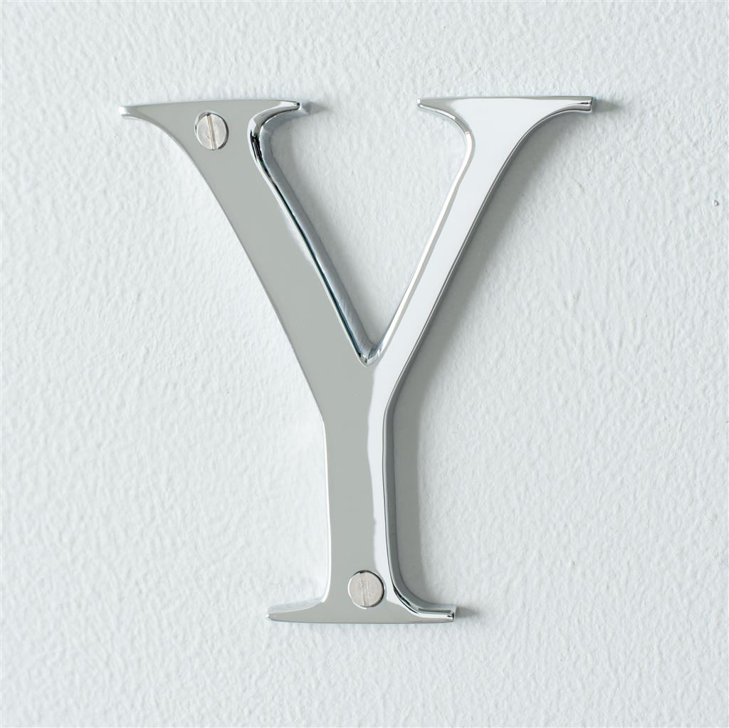 Letter Y in Nickel