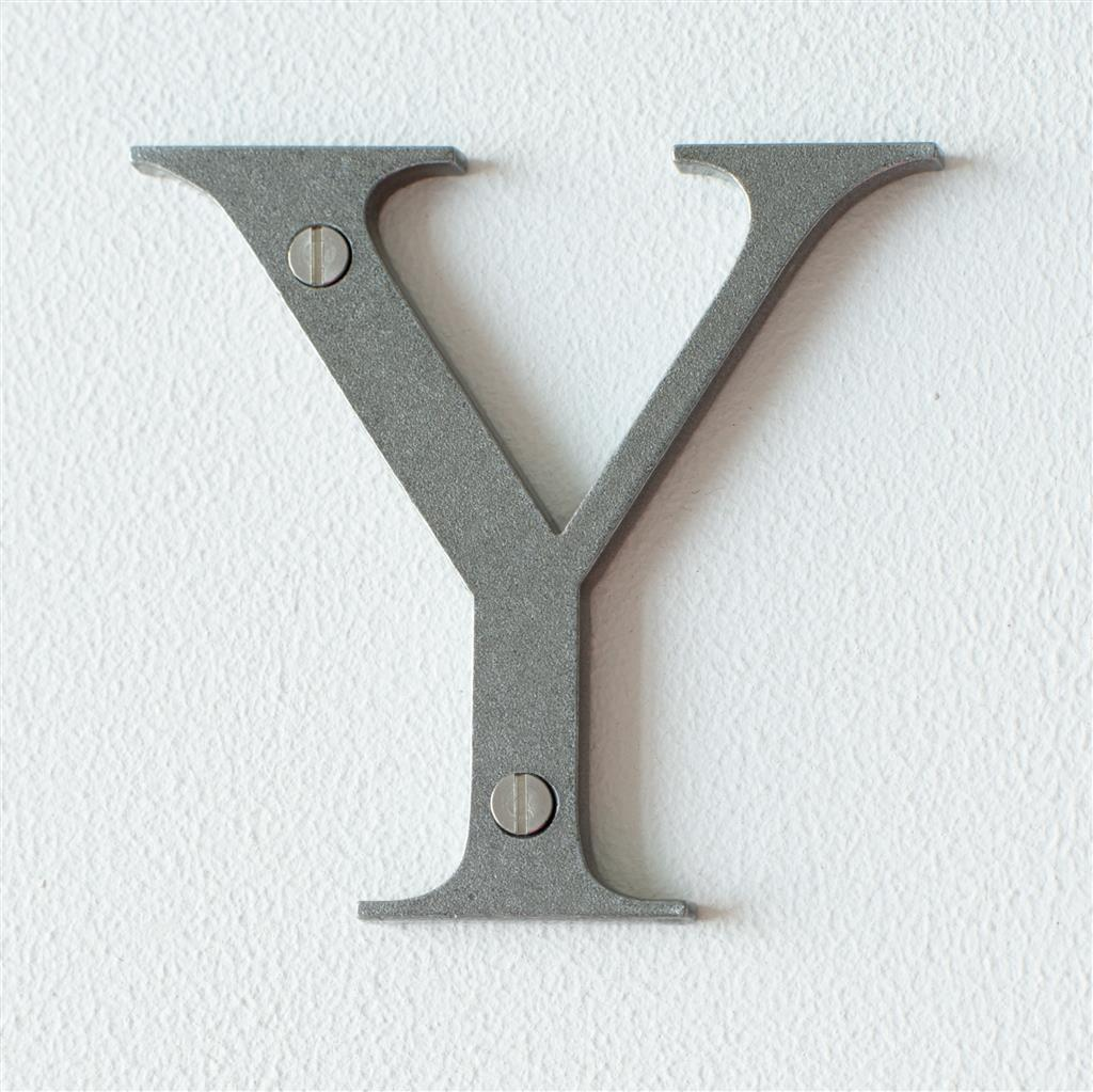 Letter Y in Polished