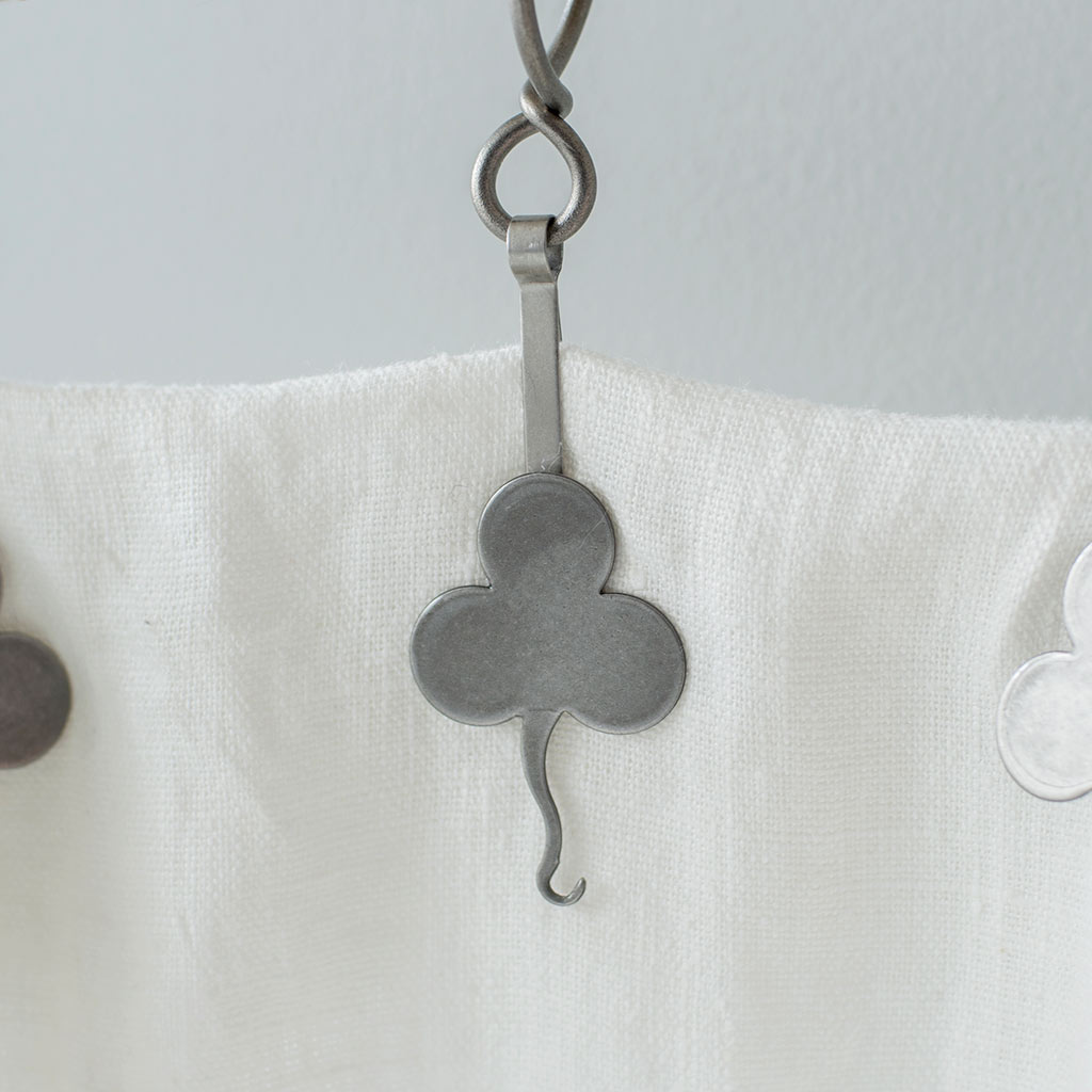 Clover Pin Clip in Polished(discontinued, only stock shown available)