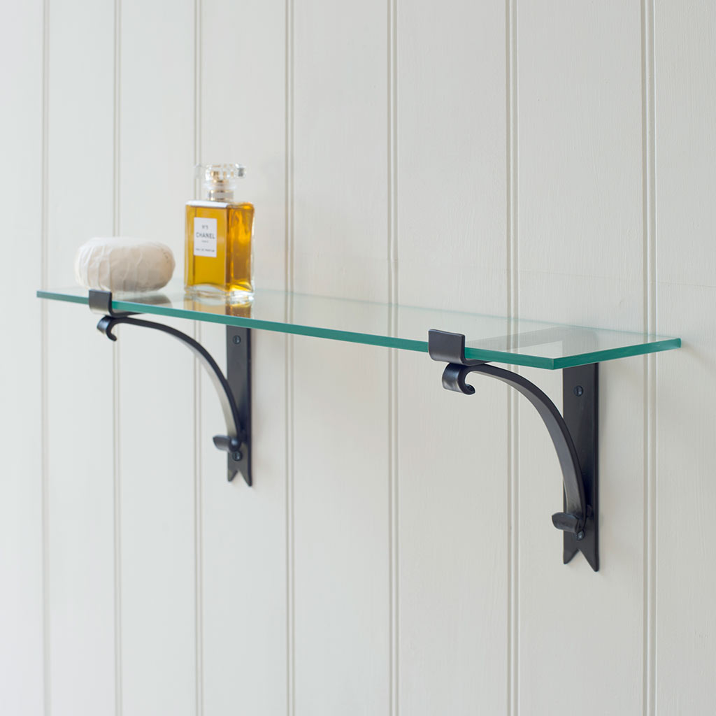 Hatton Shelf in Matt Black